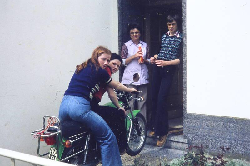 Suche single frau mit motorrad