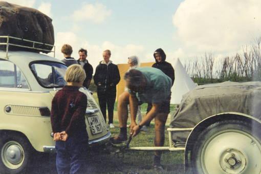 Beatle mit Anhänger