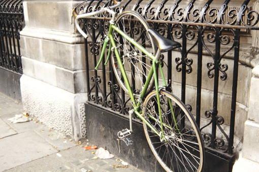 Fahrrad diebstahlgesichert