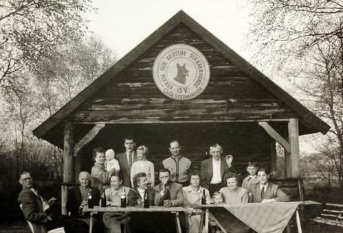 Schäferhund-Vereinsmitglieder