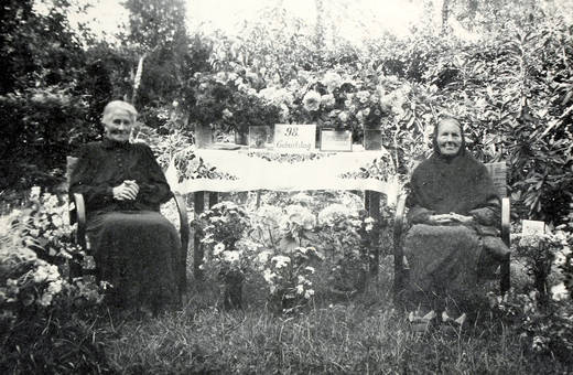 Geburtstag im Garten