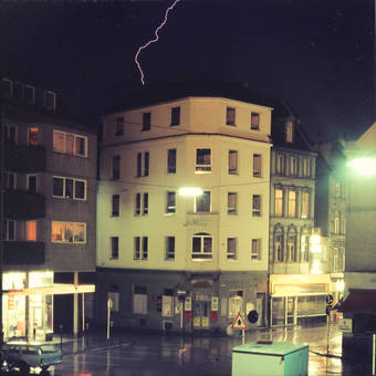 Blitz über Köln