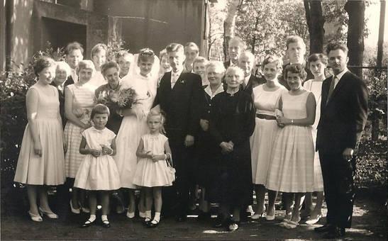 Hochzeit 1959
