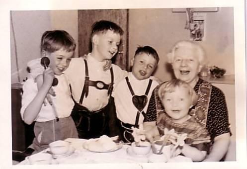 Kindergeburtstag 1959