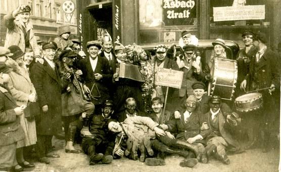 Karneval in Köln 1928