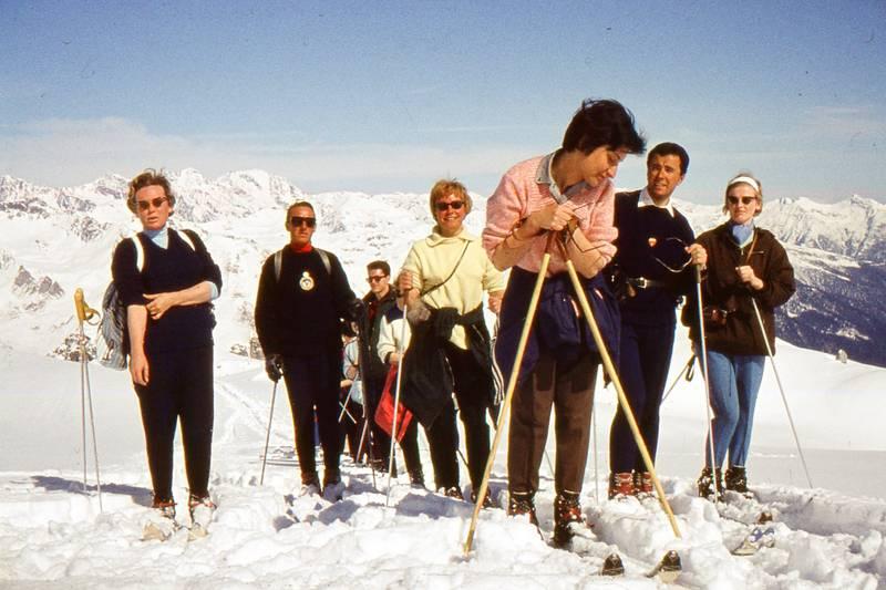 Berge, Hagen, schnee, Ski, Skifahren, urlaub, winter