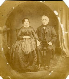 Ehepaar um 1850