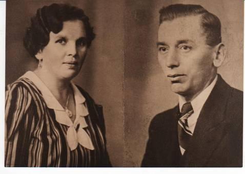 Großvater und Großmutter