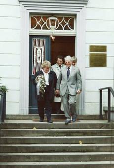 Brautbild Karl und erika 1996