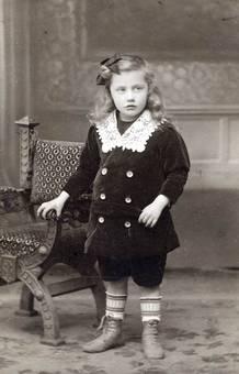 1904 Oskar 4 Jahre alt