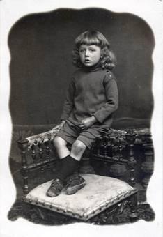 1906 Paul 4 Jahre alt