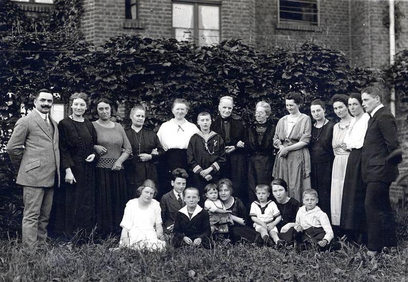 Gruppenbild, Kommunion