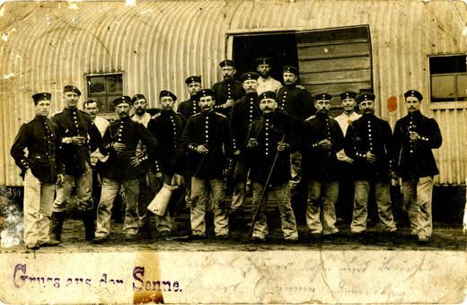 1902 Gruss aus der Senne