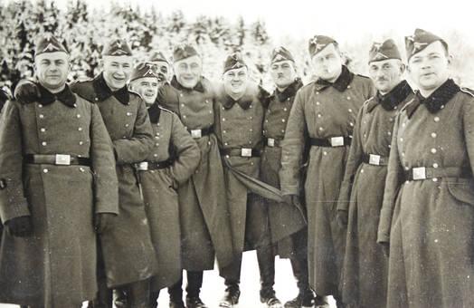 Gruppenbild im Winter