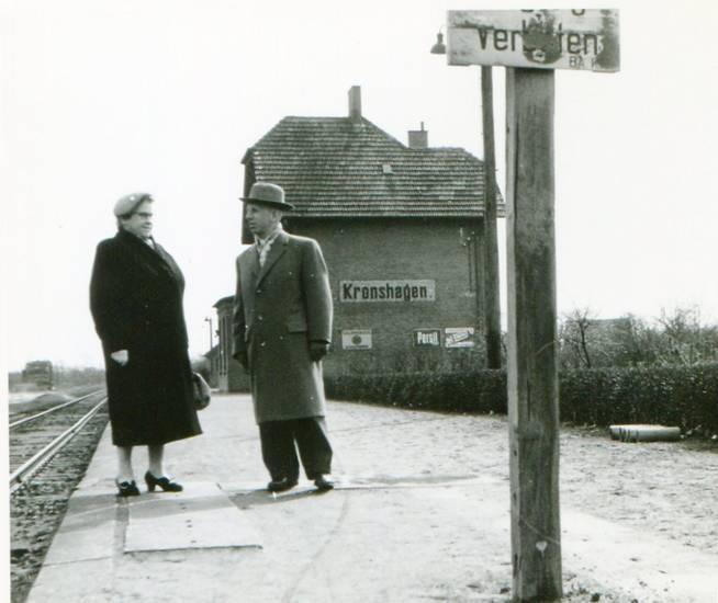 bahnhof, Gleis, Kronshagen