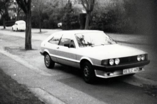 VW Scirocco aus den 80ern