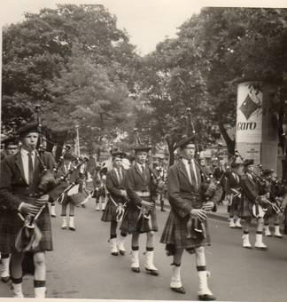 Besuch aus Schottland