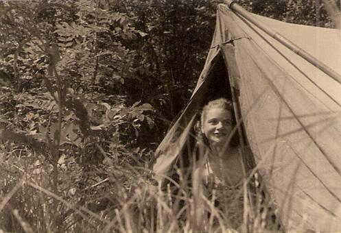 Ein Wochenende beim Zelten