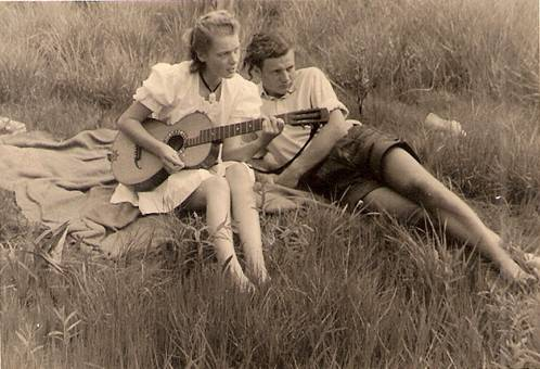 Mit Gitarre zum Picknick