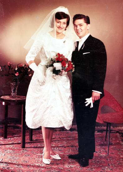 Blumenstrauß, Braut, Bräutigam, Rosen, Teppich