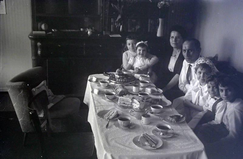 essen, familie, mahlzeit, tisch