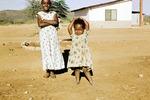 Tanzende Äthiopierin