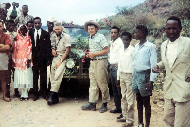Äthiopien, auto, DKW Munga, Hochzeit, KFZ, PKW