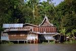 Wohnhaus am Menam Chao Phraya
