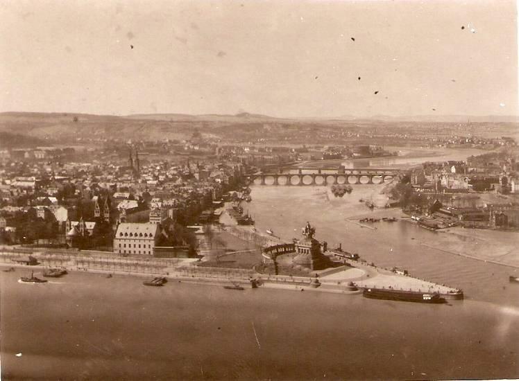brücke, denkmal, Deutsches Eck, Fluß, Koblenz, Mosel, Mündung, Rhein, rheinkultur