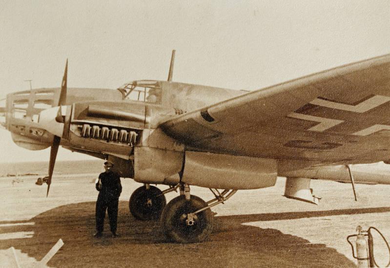 Bomber, flugzeug, heinkel, krieg, zweiter weltkrieg