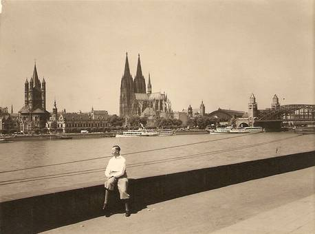 Alter Blick auf Köln