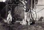 Anneliese mit Hund Senta