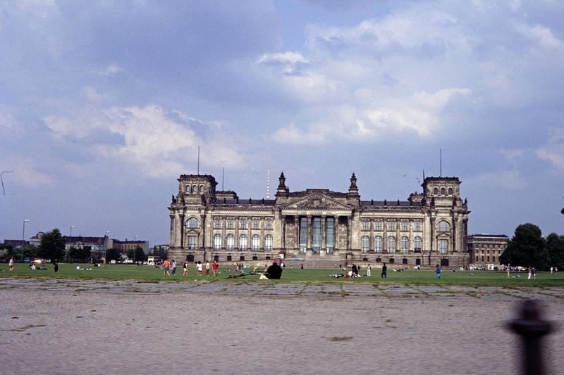 berlin, ddr, gebäude, platz der republik, reichstag