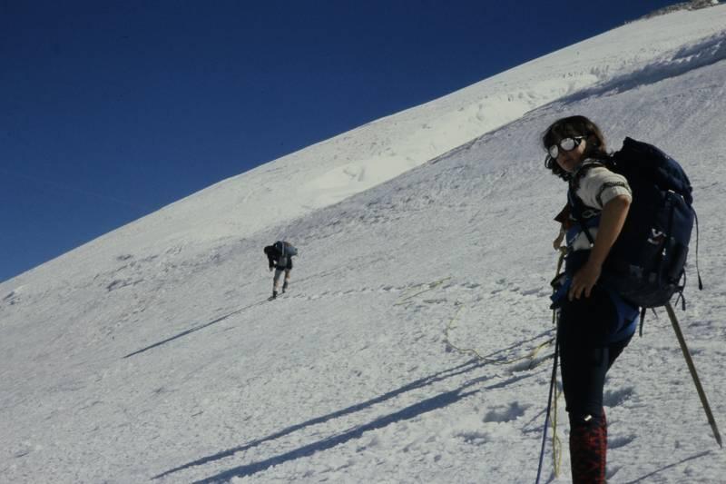 bergsteigen, Rucksack, schnee
