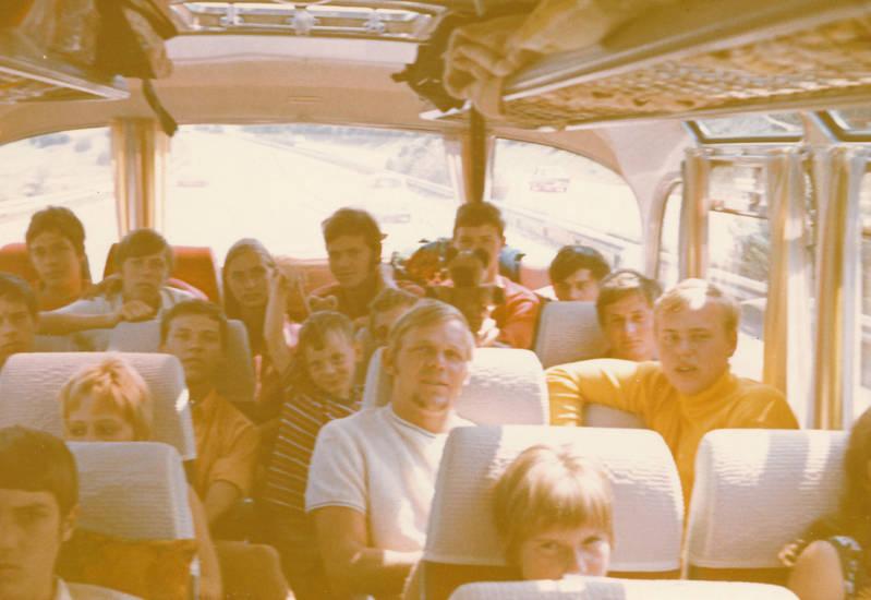busfahrt, Fußballclub, fußballverein, reise, urlaub