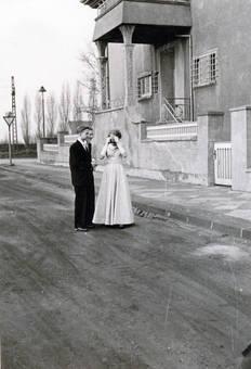 Hochzeitsgäste mit Fotoapparat