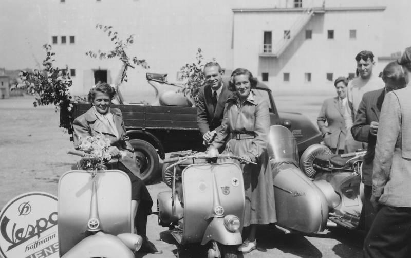 goliath, GTV, hoffmann, LKW, Motorrad, Transporter, vespa
