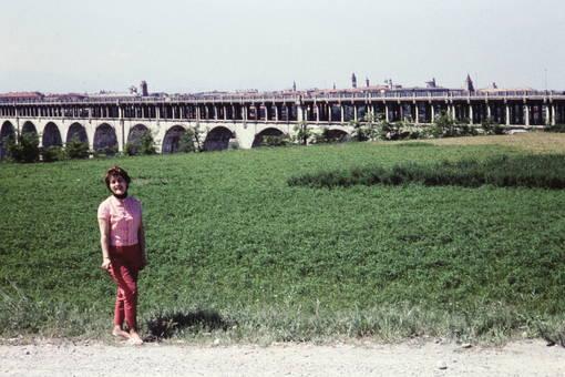 Wasserviadukt von Cuneo.