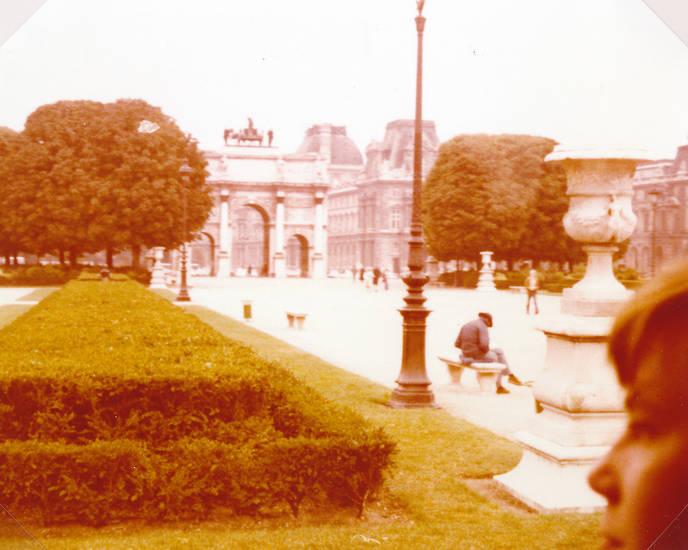 Arc de Triomphe du Carrousel, louvre, Paris