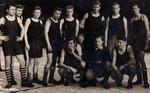 Gruppenfoto von Fußballern