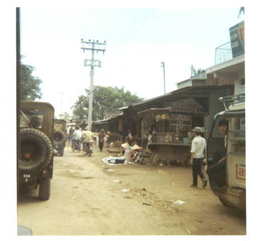 Kriegsalltag in Vietnam