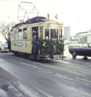 Verabschiedung der Straßenbahn