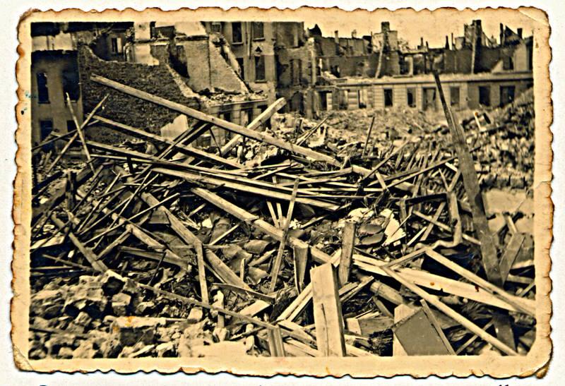 Ruine, Zerstörung, zweiter weltkrieg