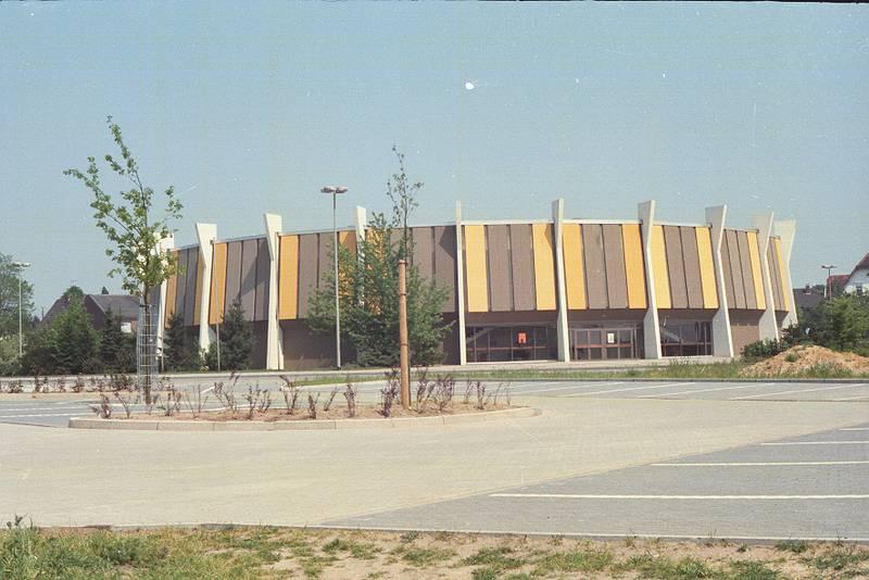 Architektur, gebäude, Parkplatz