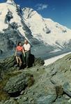 Paar in den Alpen