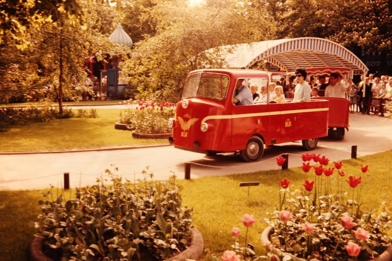 Bimmelbahn, dänemark, Freizeitpark, Kopenhagen, Tivoli