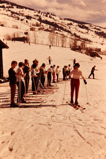 schnee, Ski, skikeilhose, Skilauf, Skischule, winter