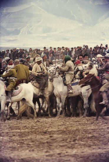 Buzkashi, Pferd, Reiter