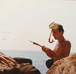 Schnorcheln mit Harpune