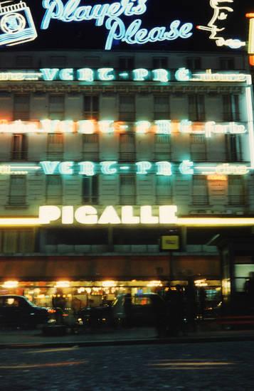 Leuchtreklame, Paris, Pigalle